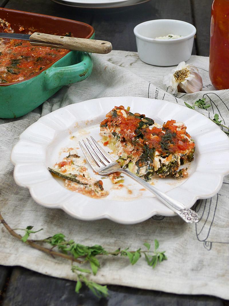 Lasagna Eaten
