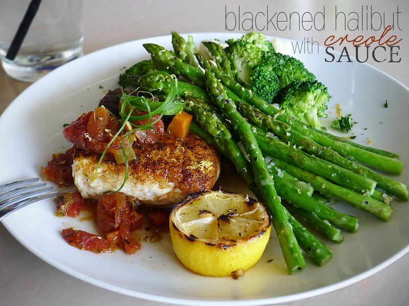 TJ's blackened halibut