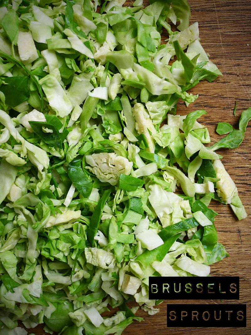 Brussel Sprouts Chopped