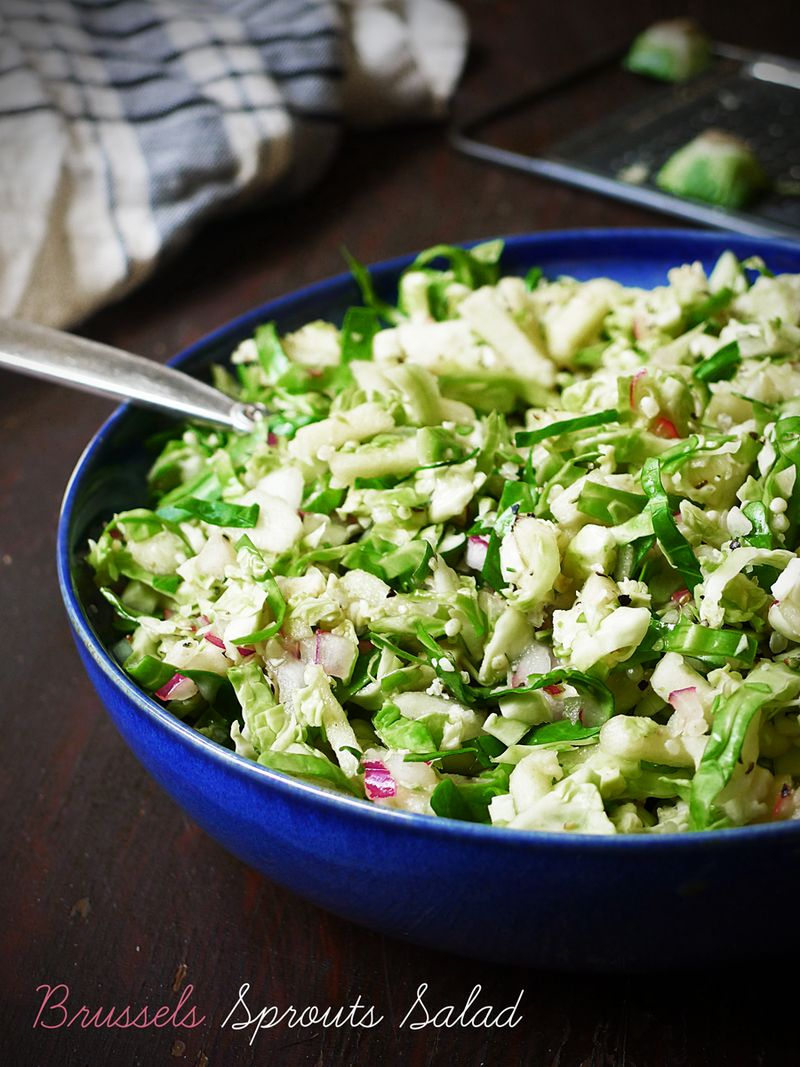 Brussel Sprout Salad Meal