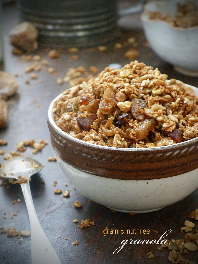 Granola Nut Free Bowl Spoon